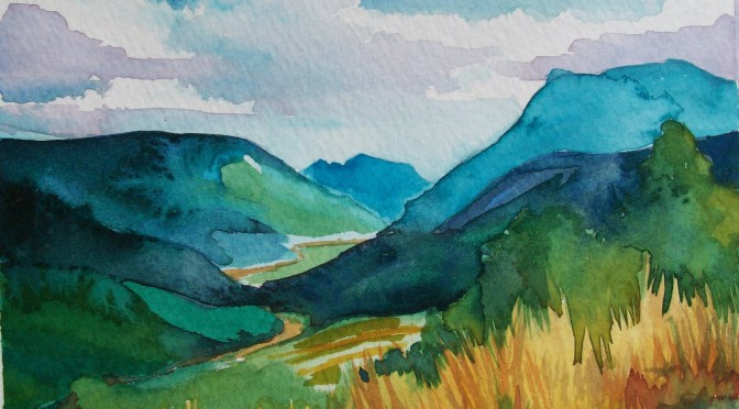 Youth Arts Arise: The Landscape of Watercolor