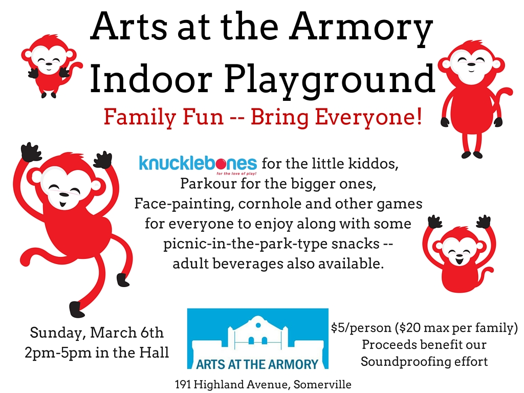 Arts at the ArmoryIndoor Playground