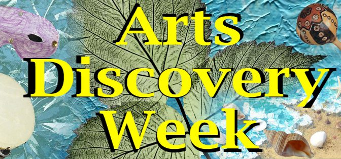Arts Discovery Week: Tissue Paper Collage